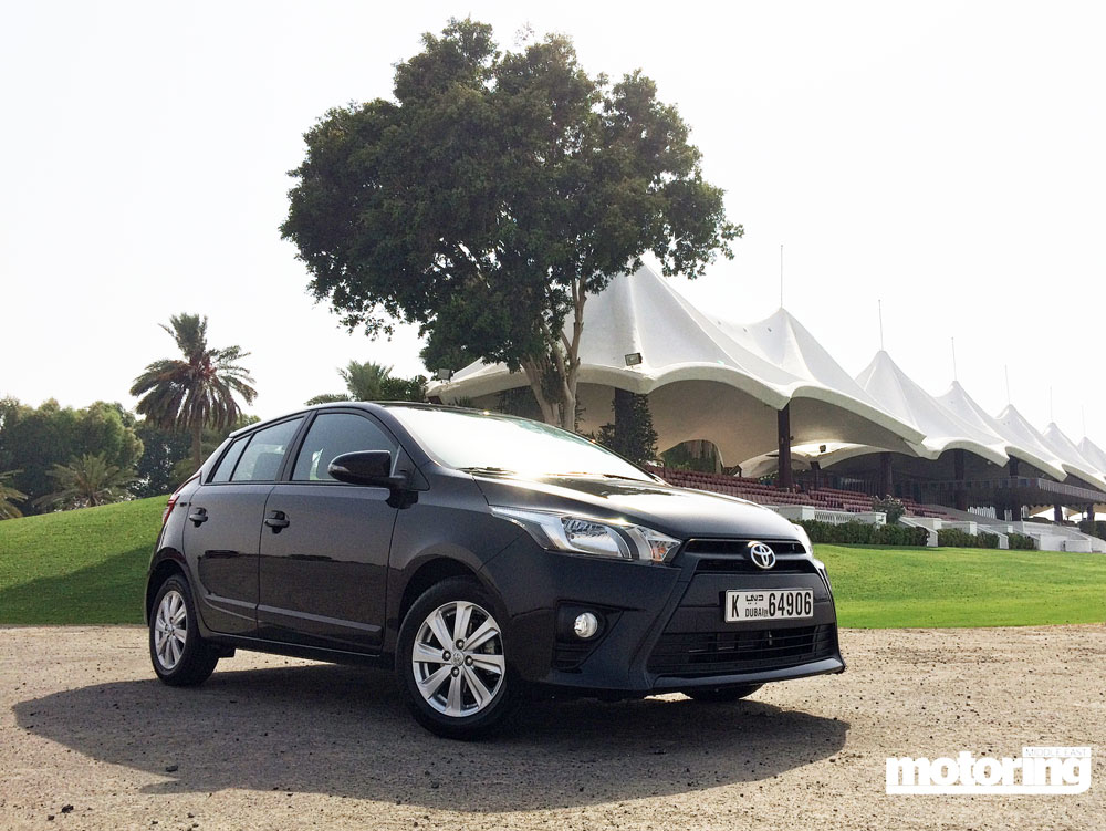 2015 toyota yaris hatchback reviewmotoring middle east