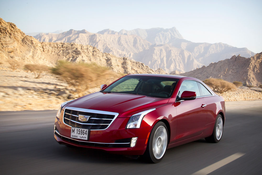 2014 cadillac ats coupe reviewmotoring middle east car news reviews. Cars Review. Best American Auto & Cars Review