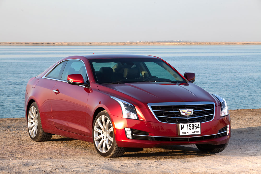 Used Cadillac Cts Coupe >> 2014 Cadillac ATS Coupe ReviewMotoring Middle East: Car news, Reviews and Buying guides