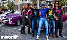 Over 300 cars at Dubai car meet - Gulf Car Festival October 2014