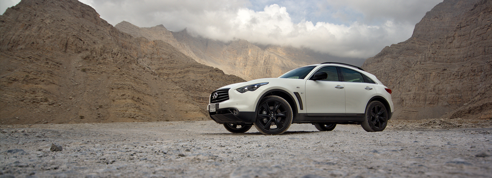 We review the Infiniti FX37, sorry, QX70 S Elite Sport