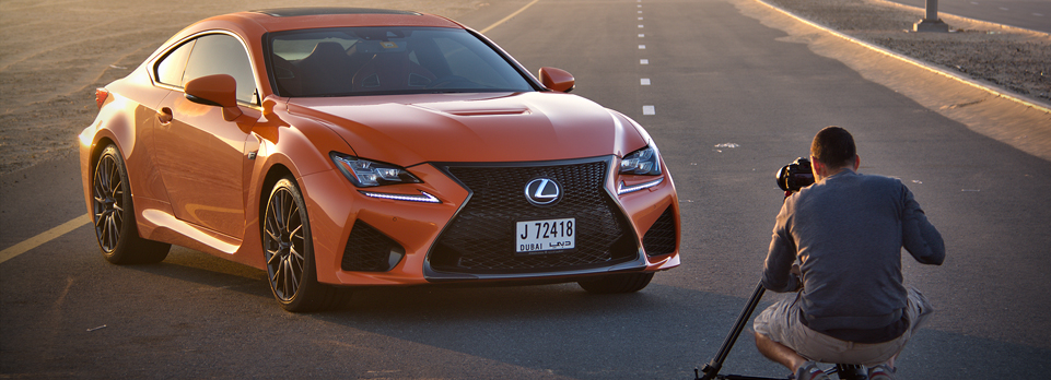 Lexus RC 350, RC 350 F-Sport and RC F - which one is right for you? Cue the crazy films!