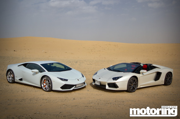 lamborghini huracan and aventador reviewmotoring middle east car news revie. Black Bedroom Furniture Sets. Home Design Ideas