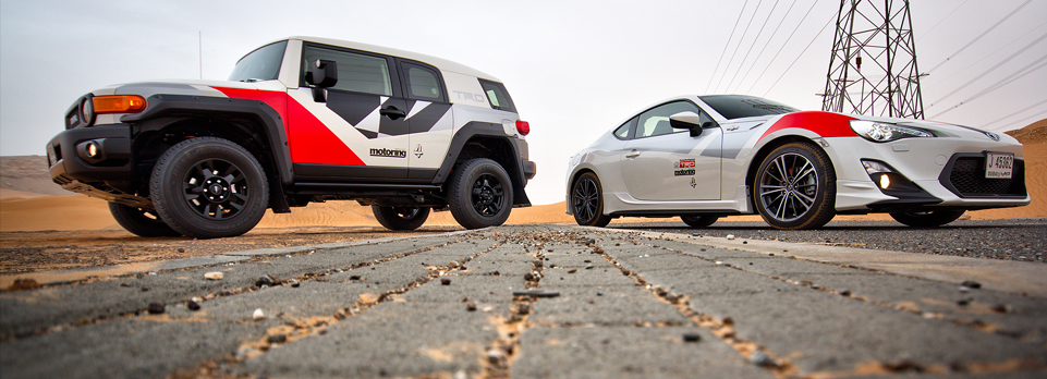 MME Challenge – we wanted to know which was best: off-road or on-road. In our spectacular video we find out