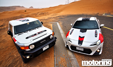 Video – Can TRD FJ Cruiser beat a Toyota 86? MME Challenge – we wanted to know which was best: off-road or on-road. In our spectacular video we find out