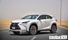 2015 Lexus NX 200t video review