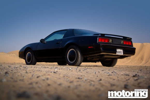 kitt from knight rider and we drive it motoring middle east car news reviews and buying guides. Black Bedroom Furniture Sets. Home Design Ideas