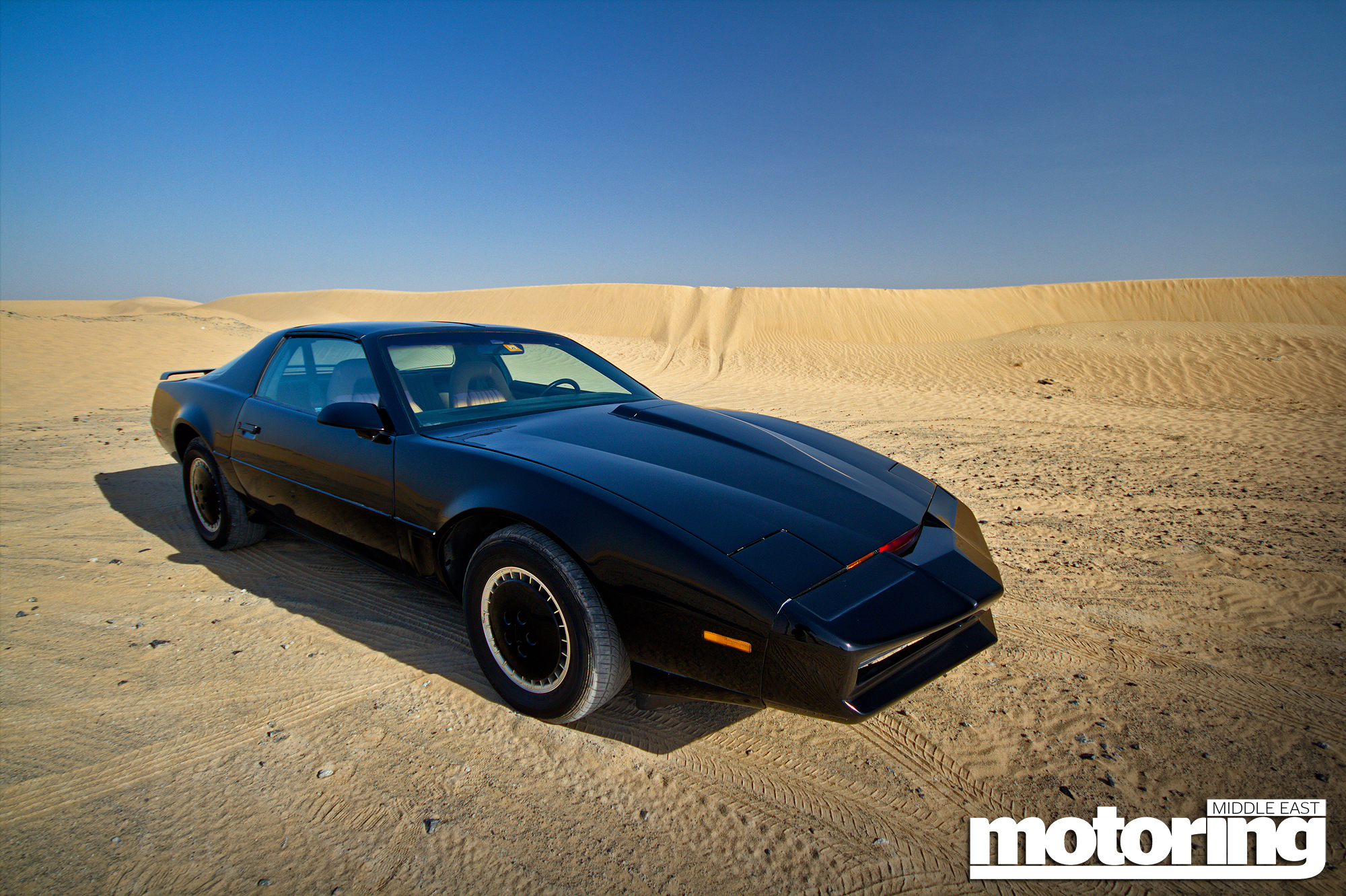Kitt from knight rider and we drive itmotoring middle east car kitt from knight rider in dubai we drive it mozeypictures Images