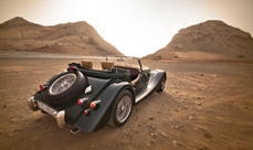Morgan Roadster with Mustang power – review