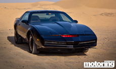 KITT from Knight Rider in Dubai - we drive it