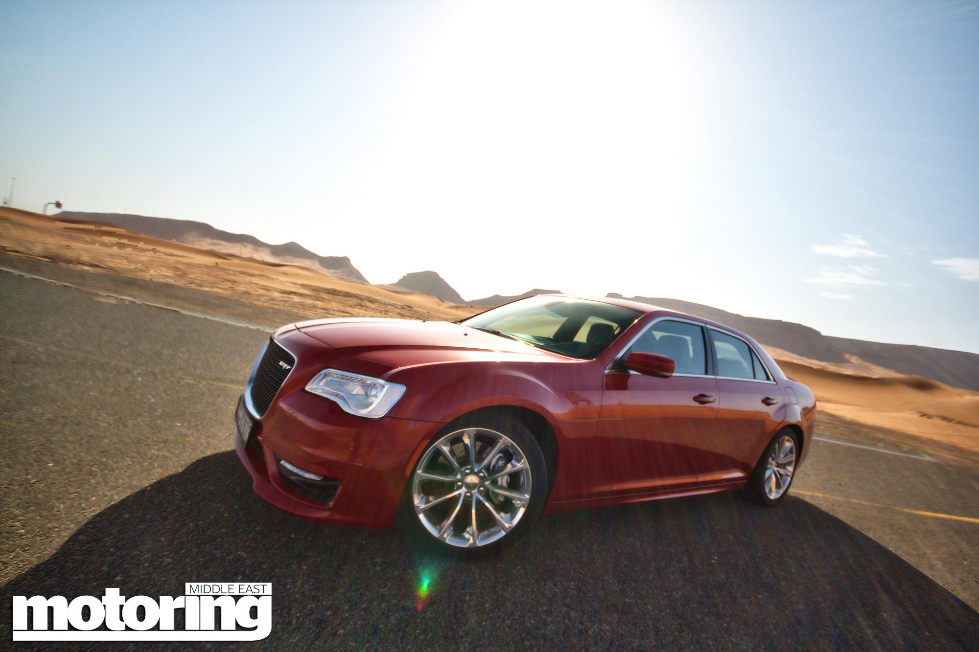 2015 Chrysler 300C SRT8 Middle East video reviewMotoring Middle East