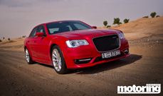 2015 Chrysler 300C SRT8 review with video