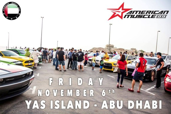 American Muscle UAE Family Gathering