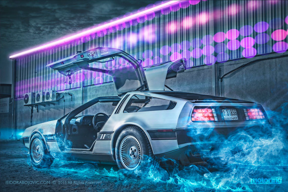 Our Delorean DMC12