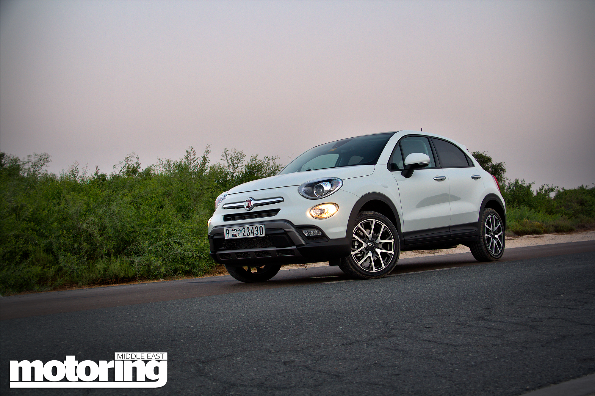 fiat 500x cross plus video reviewmotoring middle east car news reviews and buying guides. Black Bedroom Furniture Sets. Home Design Ideas