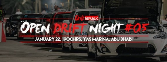 Drift Night Yas