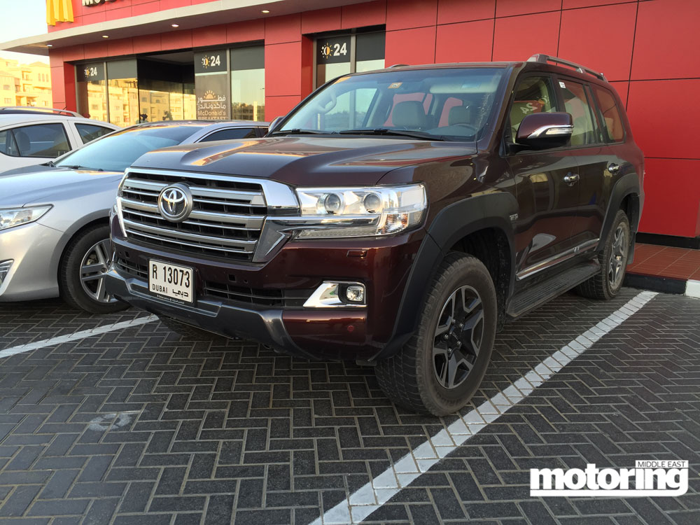Prototype Trd Toyota Land Cruiser Spotted In The Uaemotoring Middle East Car News Reviews And
