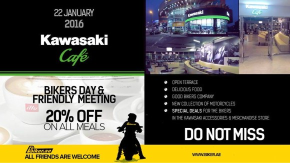 Bikers Day in Kawasaki Cafe