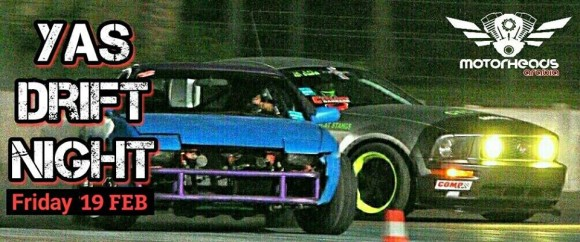 Yas Drift Night