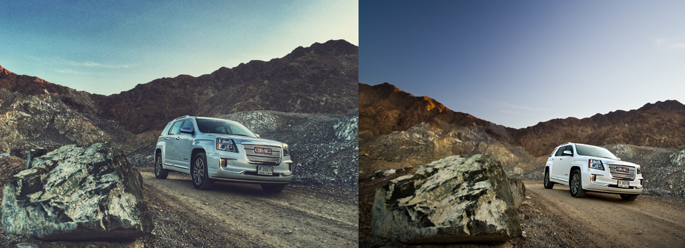 Can an iPhone take better pictures than an SLR? We find out with a little help from the GMC Terrain