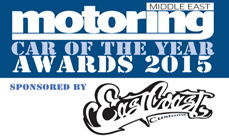 2015 Motoring Middle East Car of the Year Awards