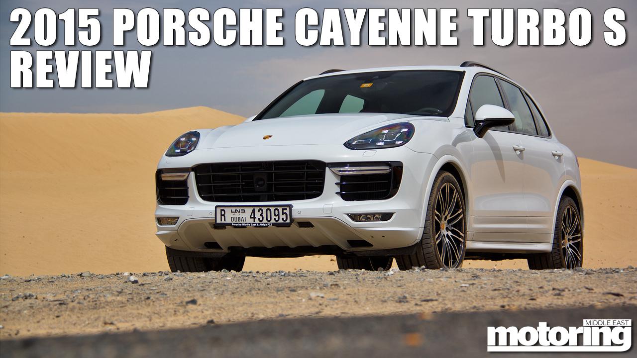 leave - Porsche Cayenne Turbo S 2015