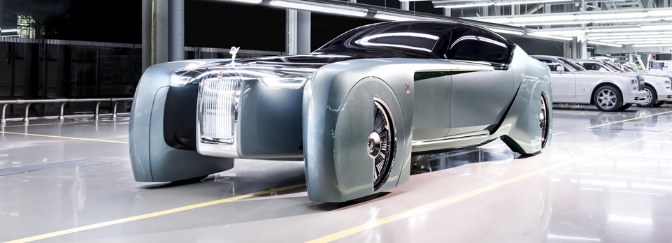 Driverless grand luxury for futuristic Rolls-Royce concept