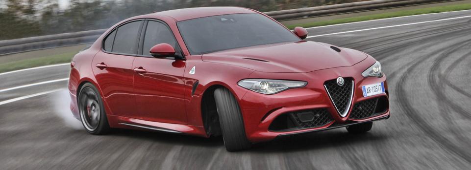 We go to Italy to drive the all new Alfa Romeo Giulia and the firebreathing Quadrifoglio version