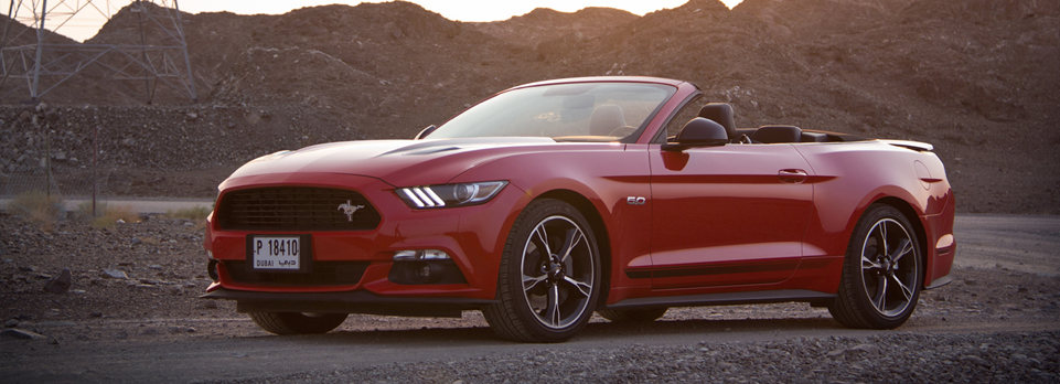 We go topless in the California Special edition of the Ford Mustang GT