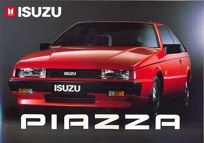 Isuzu Piazza