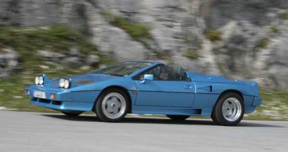 Lotus Esprit Convertible Saint Tropez