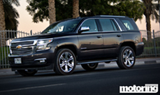 Chevrolet Tahoe long term test