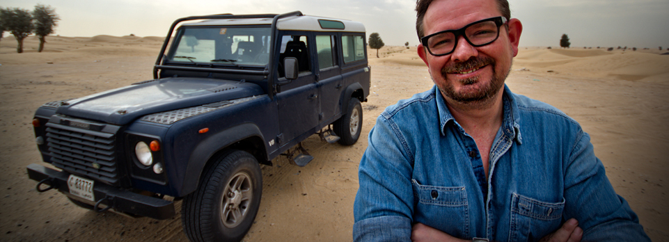 Give it some grunt! We check out Alistair Crighton's bored out V8 Defender