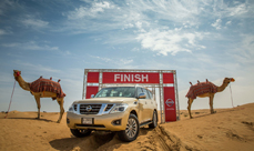 Nissan Camel Desert Power