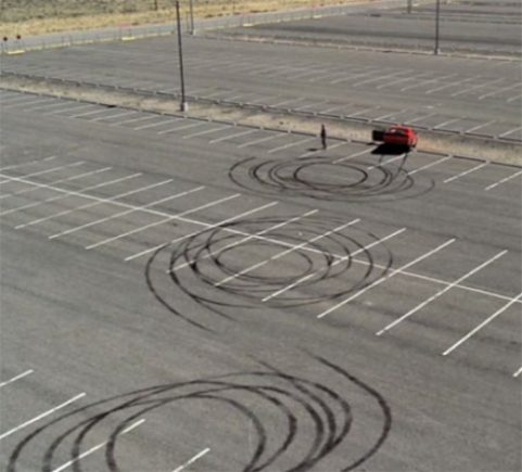 Breaking Bad challenger car park