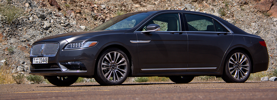 Proper name, proper car, proper luxury – the Continental is back. Nice one Lincoln