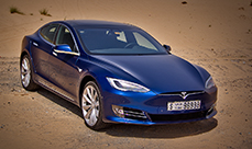 Tesla Model S 90D review in Dubai