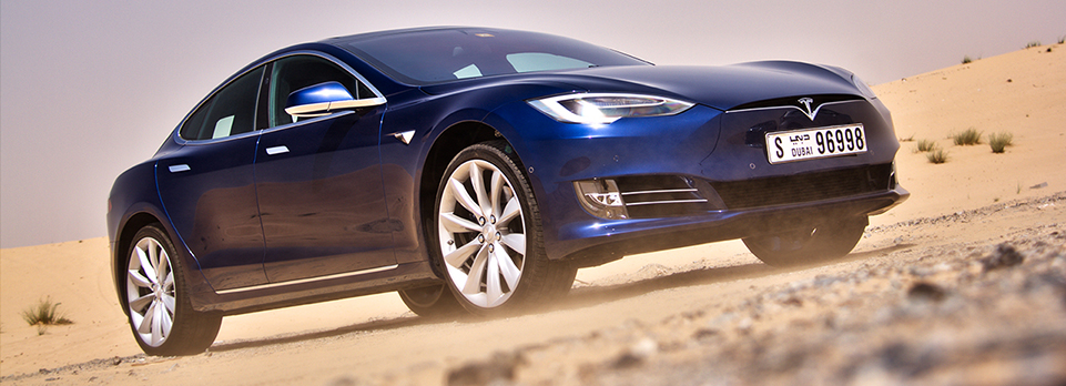 Can the super-desirable all-electric luxury performance saloon from Elon Musk work in the UAE?