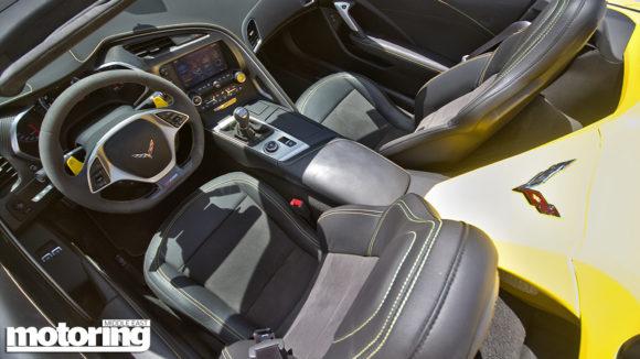 Chevrolet Corvette C7 Z06 7-speed manual convertible review