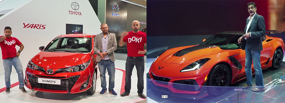 New cars, tons of activities, a social media blitz and us on the Ignition Live Stage