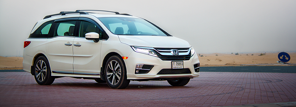The all-new Honda Odyssey MPV for wanna-be airline captains, would-be killers and an occasional eye-full of cleavage