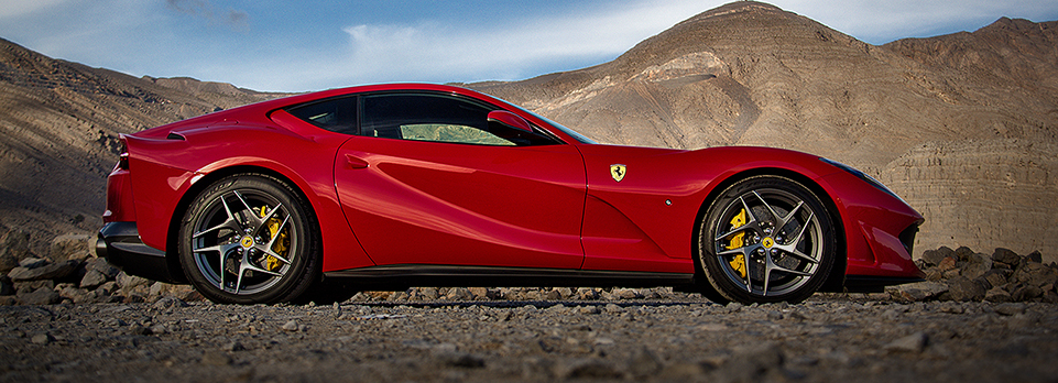 Taking the 800bhp Ferrari up Jebel Jais in ferocious fashion. Then finding something even better!