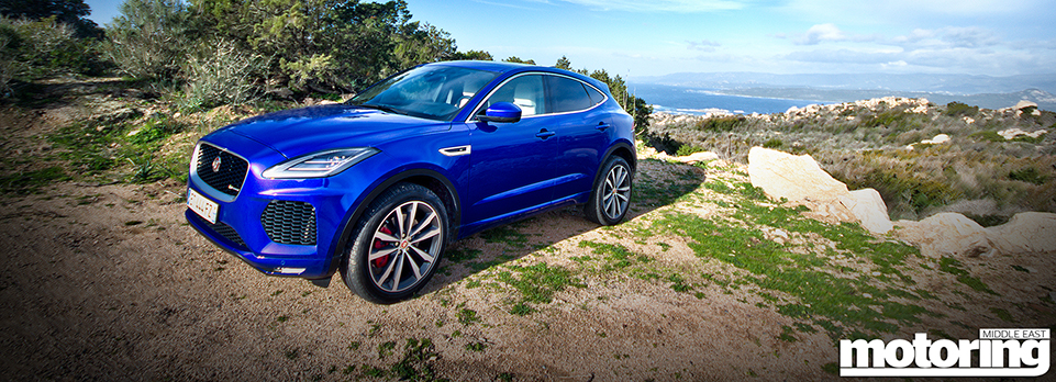 Picking up the pace in the sporty crossover from Jag!