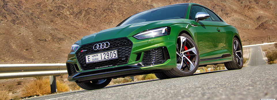 Audi found a new secret ingredient for its new RS5 – Gamma Radiation!