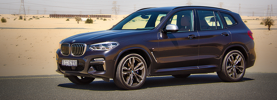The family SUV that wants to be an M3