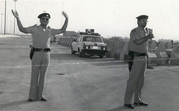 1980s Saudi Police Volvo 240 - Thanks to Abdulrahman Rammal from Saudi Auto for this image