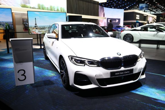 The only really significant new car launch at this year's Paris Motor Show was the BMW 3 Series